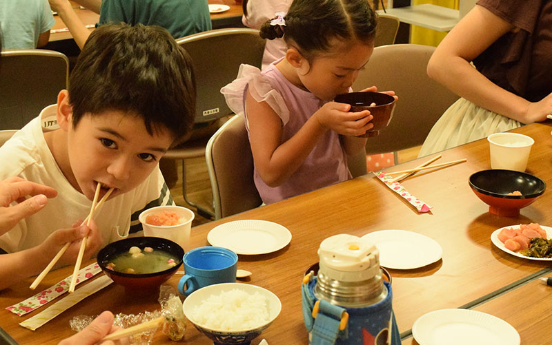 西都公民館食育サークル おいしいごはんタイム!
