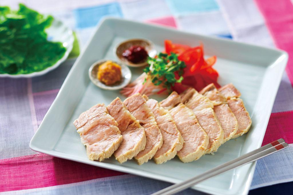 【野菜ぶいよん】レシピしっとりゆで豚k