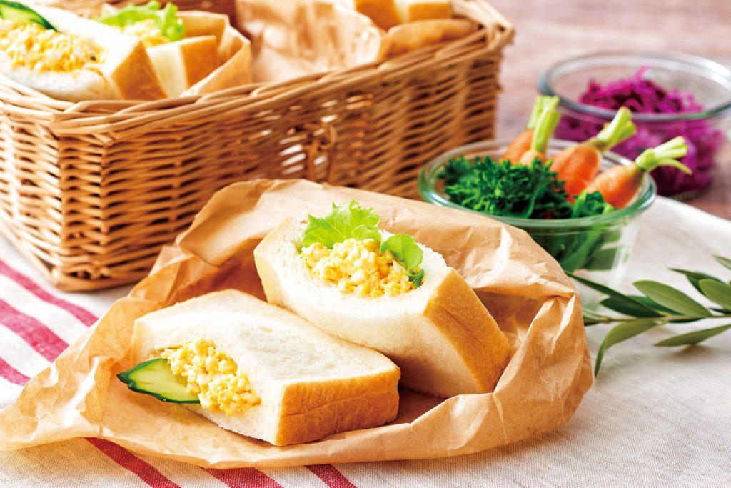 【野菜ぶいよん】ふわふわ卵ポケットサンド_s