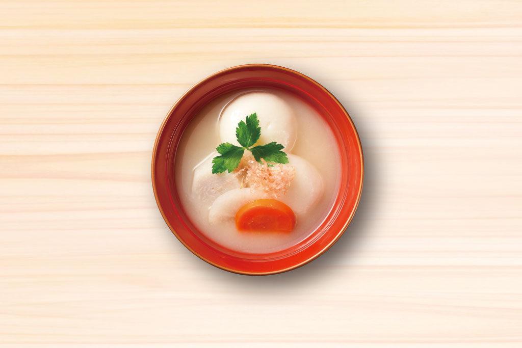 【うまだし】レシピ_関西白味噌雑煮_h